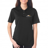 Eggspectation Ladies Bartender Short Sleeve Polo