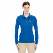 Eggspectation Ladies Server Long Sleeve Polo