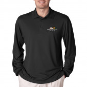 Eggspectation Men Bartender Long Sleeve Polo
